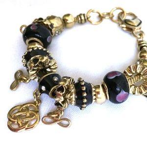 Jewelry - Celtic Knot Infinity Charm Bracelet
